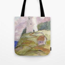 Peaceful Lighthouse II Tote Bag