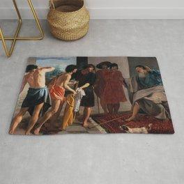 """Diego Velázquez """"Joseph's Tunic"""" Rug"""