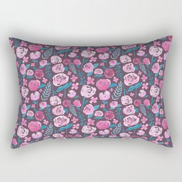 Watercolor florals  Rectangular Pillow