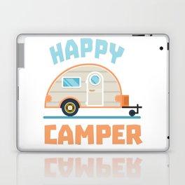 Happy Camper Camping Laptop & iPad Skin