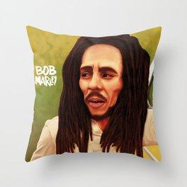 Caricature Throw Pillow