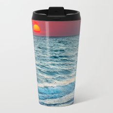 Sunset on the sea Travel Mug