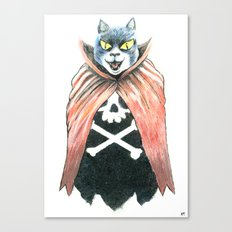 Cat Cape Canvas Print