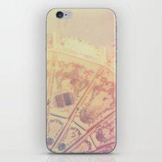 Whirl Polaroid iPhone & iPod Skin
