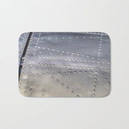 Aluminium Aircraft Skin Texture Bath Mat