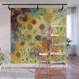 Immersed in Shallow Waters Wall Mural