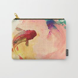 Canvas Koi Carry-All Pouch