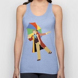 Sixth Doctor: Colin Baker Unisex Tank Top