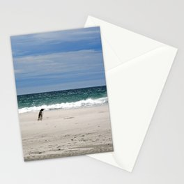 Penguins on the Beach Stationery Cards
