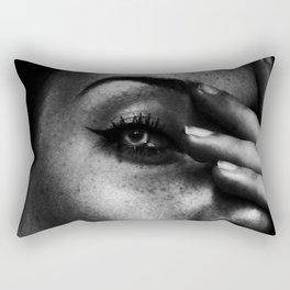 Dangerous Girl Rectangular Pillow