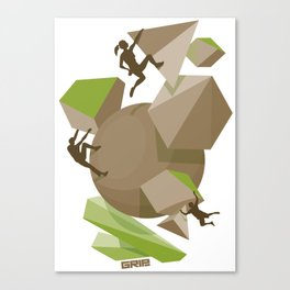 fun team Canvas Print
