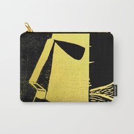Photo Yellow - Abstract Surrealism Print Carry-All Pouch