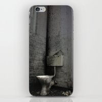 toilet iPhone & iPod Skins featuring Toilet Trouble by chillcleal