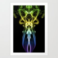 Smoke Photography #30 Art Print