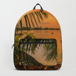 Sunset in Hoi An Vietnam Backpack