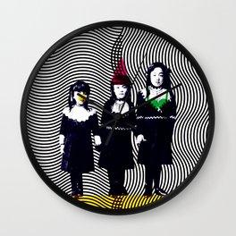 sœurs japonais Wall Clock