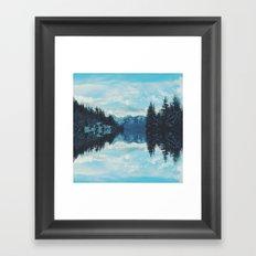 British Columbia Reflections Framed Art Print