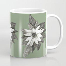 Florida Flower with Green Background Coffee Mug