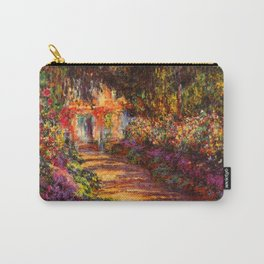 Garden Path at Giverny - Claude Monet 1902 Carry-All Pouch