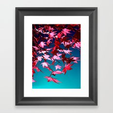 red tree II Framed Art Print