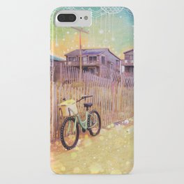 Beach Cruiser and Stars iPhone Case