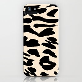 Savana Cheetah Leopard Pattern iPhone Case