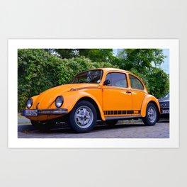 Orange Mechanics Art Print