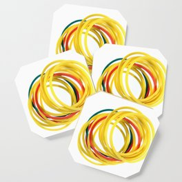 Several Stationery Rubbers Coaster