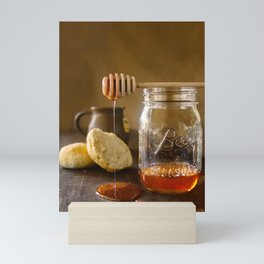 Honey and Biscuits Mini Art Print