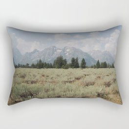 The Rockies are living, they never will die! Rectangular Pillow