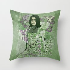 Portrait of a Potions Master Throw Pillow