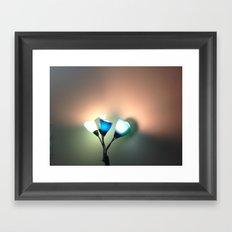 Modern Flowers Framed Art Print