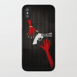CHICAGO Minimal Musicals iPhone Case