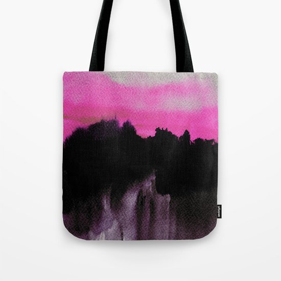 Deconstructed Horizon Tote Bag