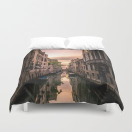 Canal of Venice Duvet Cover