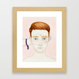 Bisexual Invisibility #1 Framed Art Print