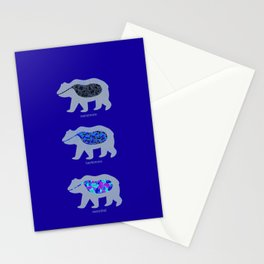 The Eating Habits of Bears Stationery Cards