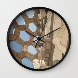 Edge Space Wall Clock