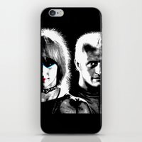 blade runner iPhone & iPod Skins featuring Blade Runner Nexus 6 by PsychoBudgie