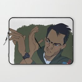 Because I Was Inverted Laptop Sleeve