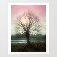 Village Green Tree Art Print