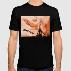 Zeppelin SMALL Black Mens Fitted Tee