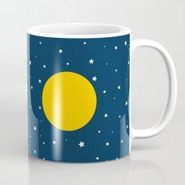Starlight With Moon Accent Coffee Mug