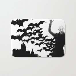 Nosferatu - the real bat Bath Mat