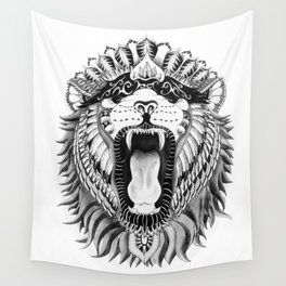 Lions + Patterns Wall Tapestry