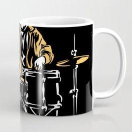 Drums Drummer Drums Drum Sticks Coffee Mug