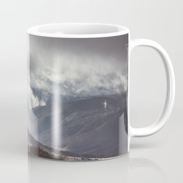 Waiting for the sun - Landscape and Nature Photography Coffee Mug
