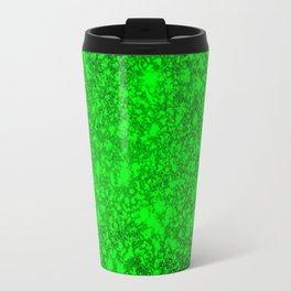 texture green mix  Travel Mug