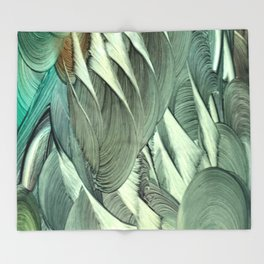 Bahamut Throw Blanket