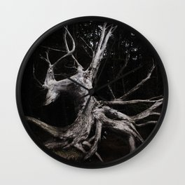 Felled Art-ifact Wall Clock